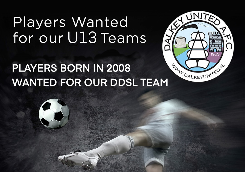 Players wanted for our U13 Boys Teams