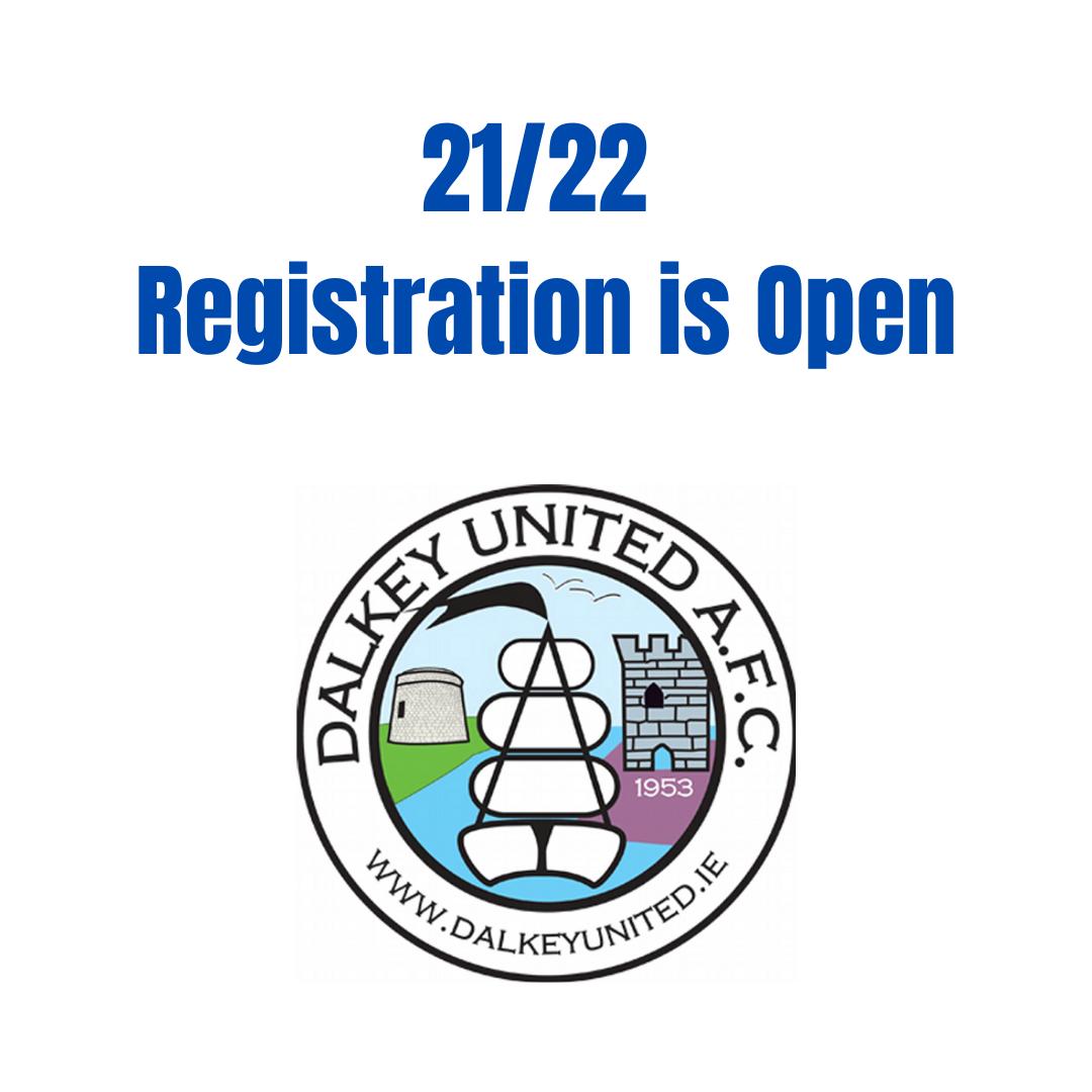 Registration for 21/22 Season is Open